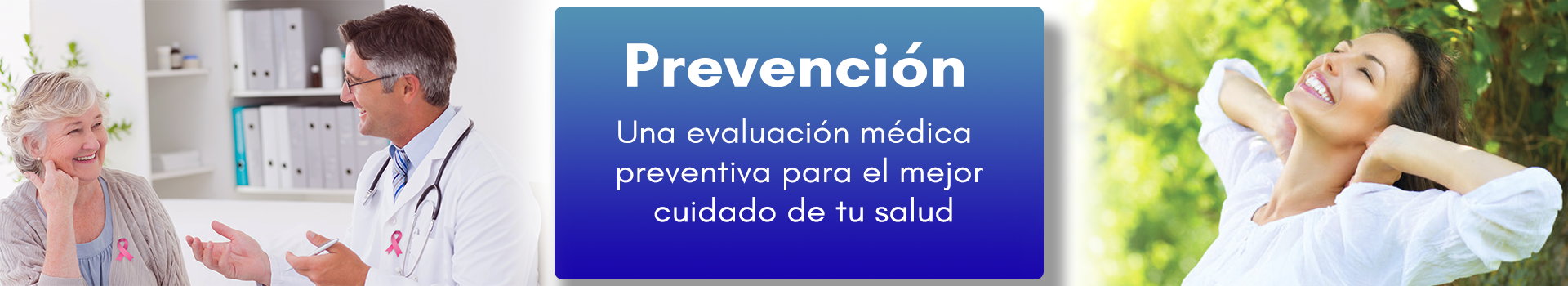 Banner Chequeos medicos